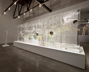 David Altmejd's installation view (Andrea Rosen gallery, 2011)