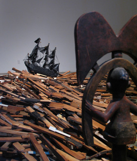 Radcliffe Bailey's Storm at Sea (Jack Shainman gallery, 2006)