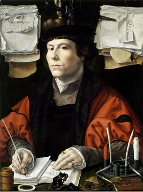 Jan Gossart's Portrait of a Banker (National Gallery of Art, c. 1530)