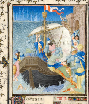 Limbourg Brothers, Belles Heures de Jean, Duc de Berry (Metropolitan Museum of Art at the Cloisters, c. 1405-1409)