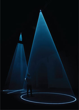 Anthony McCall's Between You and I (Creative Time, 2009)
