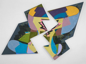 Elizabeth Murray's Breaking (Pennsylvania Academy of the Fine Arts, 1980)